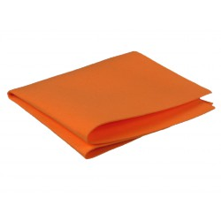 TORCHON SYNTHETIQUE ORANGE 60 x 70