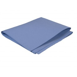 TORCHON SYNTHETIQUE BLEU 60 x 70