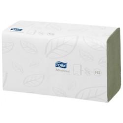 TORK ADVANCED GREEN SINGLEFOLD (ZZ) HAND TOWEL 290179 H3