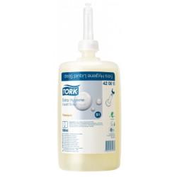 TORK PREMIUM EXTRA HYGIENE LIQUID SOAP 420810 (S1)