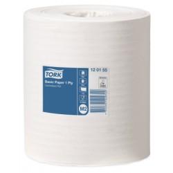 TORK BASIC PAPER CENTERFEED ROLL M2 (120155) BLANC