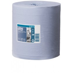 TORK WIPING PAPER PLUS CENTERFEED ROLL M2 (128207) BLEU