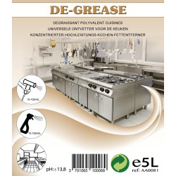 DE-GREASE (EX DEGRAISOL 400) 5 LITRES